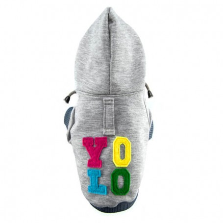 "Sweat Capuche pour chien ""YOLO"" par Bowl and Bone"